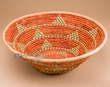 "Southwest Indian Style Palm Basket 18""x 6"" (72)"