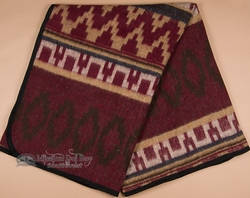 Southwest Indian Style Trade Blanket 72x80 -Eco Fiber  (tb2)
