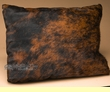 Southwest Leather Cowhide Pillow 12x18   (p2)