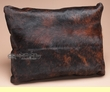 Southwest Leather Cowhide Pillow 12x16   (p2)