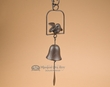 "Southwest Metal Art Wind Bell 25"" -Song Bird  (ma100)"