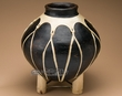 "Southwest Native Tarahumara Indian Clay Vase  13""  (151)"