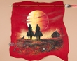 Western Navajo Indian Arrow Wall Hanging -Sunset  (h79)