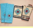 Southwest Oven Mitt, Pot Holder & Towel Set -Hopi  (ks1)