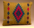 Southwest Pattern Pillow - Hand Woven Zapotec 12x16  (11a)