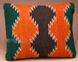 Southwest Pattern Pillow - Hand Woven Zapotec 12x16 (9a)