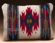 Southwest Pattern Pillow - Hand Woven Zapotec 12x16  (b)