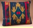 Southwest Pattern Pillow - Hand Woven Zapotec 12x16 (c)