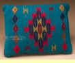 Southwest Pattern Pillow - Hand Woven Zapotec 12x16  (L)