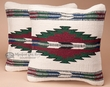 Southwest Pillow Covers 18x18 -Zuni Style (pair)