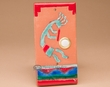 Southwest Saltillo Tile Door Bell Button -Kokopelli  (db1)