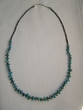 "Southwest Style Turquoise Necklace 27"" (69)"
