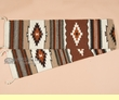 """Southwest Table Runners -Handwoven Wool 10""""x80"""" (10809)"""