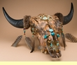 Southwest & Western Painted Steer Skulls
