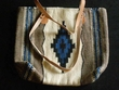 "Southwest Western Wool Purse 18""x16"""