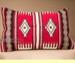 Woven Southwest Wool Pillow Cover 20x32 -Acoma Pattern