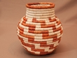 "Southwest Woven Palm Basket 7""  (mt5)"