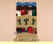 "Southwest Woven Wall Hanging 15""x30""  (16)"