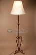 "Southwest Wrought Iron Floor Lamp 63"" -CLEARANCE  (FL1)"