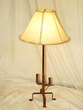 "Southwest Wrought Iron Table Lamp 28""   (TL8)"