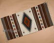 "Southwest Zapotec Indian Rug 30""x60"" (6)"