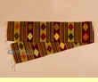 "Southwest Zapotec Indian Table Runner 10""x80"" (a47)"