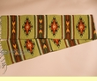 """Southwest Zapotec Indian Table Runner 10""""x80"""" (i)"""