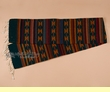 "Southwest Zapotec Indian Table Runner 10""x80"" (o)"