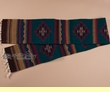 "Southwest Zapotec Indian Table Runner 10""x80"" (v)"