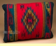 Southwest Zapotec Indian Wool Pillow 12x16  (p2)
