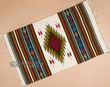 "Southwest Zapotec Mexican Rug 23""x39"" (93)"
