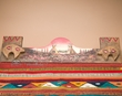 "Southwest Zapotec Rug Wall Hanger 30"" -Village  (RH31)"