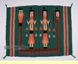 "Southwest Zapotec Tapestry Rug Tapestry 30""x 40""  (t10)"