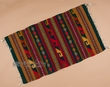 "Southwest Zapotec Throw Rug 23""x39"" (111)"