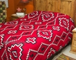 Plush Southwest Bedspread -Navajo Classic KING SIZE