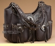 Southwestern Style Concealed Carry Purse -Coffee  (p14)