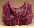 Southwestern Concealed Carry Purse -Red  (sp76)