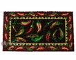 "Southwestern Door Mat - 16""x28"" Chili Peppers  (d12)"