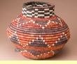"Southwestern Hand Coiled Basket 12.5"" (a6)"