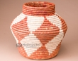 "Southwestern Hand Coiled Basket 12"" (a6)"