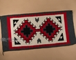 "Southwestern Hand Woven Zapotec Indian Rug 32""x64"" (167)"
