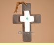Southwestern Handcrafted Metal & Tile Cross  (66)