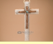 Southwestern Handcrafted Wood & Iron Cross  (65)