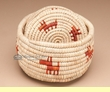 Southwestern Indian Style Basket Six Coaster Set  (C10)