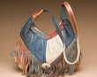 Southwestern Leather Purse -Multicolor  (51)