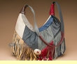 Southwestern Multi-color Cowhide Leather Purse (p79)