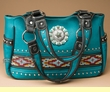 Southwestern Native Design Purse -Turquoise  (p469)