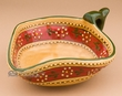 Southwestern Painted Talavera Pottery Pepper Bowl  (t25)