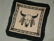Southwestern Pillow Cover 16x16 -Buffalo (pc29)