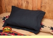 Southwestern Pillow Sham 24x30 -Black